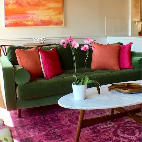 Peachy Decorative Boxed Pillows 18 X 18 Set Of 2 Uwap Interior Chair Design Uwaporg