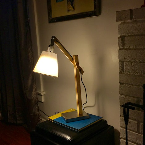Melanie Table Lamp - Photo by Jenny Freudenberg