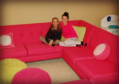 Hughes U-Sofa Sectional  - Photo by Meg F.