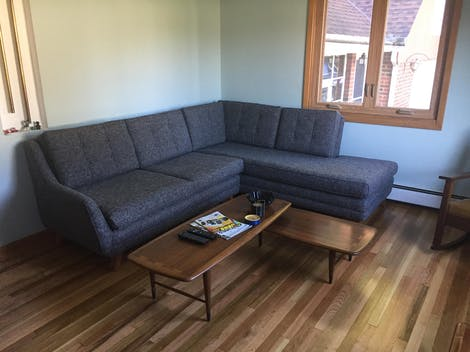 Eastwood Sectional with Bumper - Photo by Eric R.
