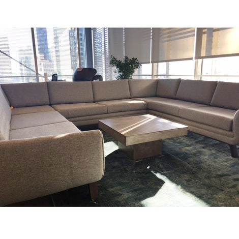 Calhoun U-Sofa Sectional - Photo by Christina Barney