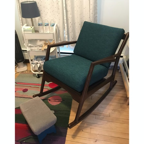 Collins Rocking Chair - Photo by Nicole Mauser