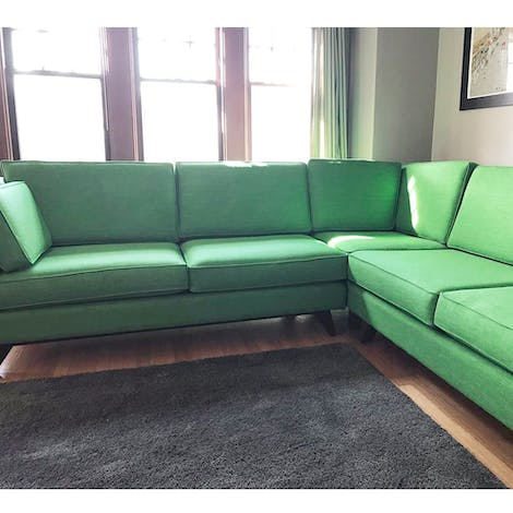 Roller Corner Sectional - Photo by Brian Wendel