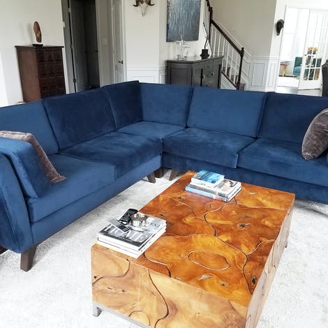 Roller Corner Sectional - Photo by Cindy Rodney-smith