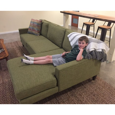 Levi Sectional - Photo by Laurie Blount