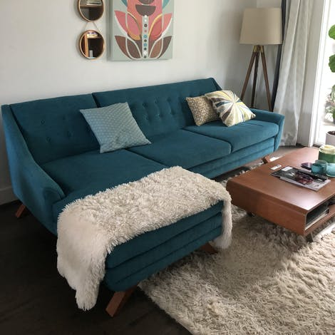 Aubrey Sectional - Photo by Kelley Keith