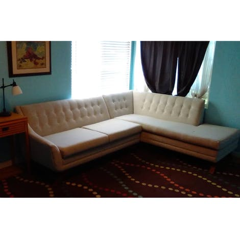 Aubrey Sectional with Bumper (2 piece) - Photo by Lauren Flake