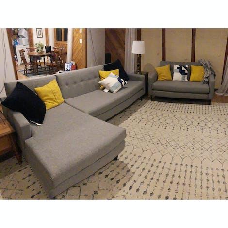 Korver Apartment Sofa - Photo by Taylor Vaughn