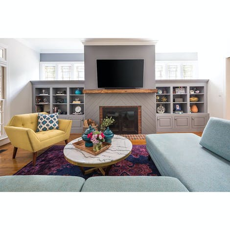 Calhoun Sectional with Bumper - Photo by Rima Nasser