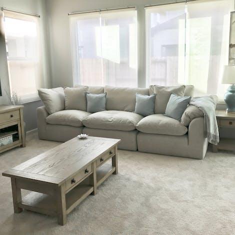 Bryant Modular Sofa (3 piece) - Photo by Takisha Corrica