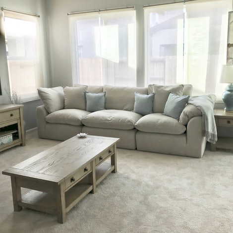 Bryant Modular Sofa (3 piece) - Photo by Takisha Corrica