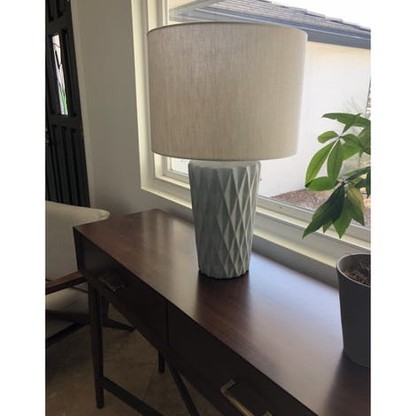 Carla Table Lamp  - Photo by Edna Guzman