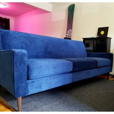 """Winslow 84"""" Sofa - Photo by Tim C."""