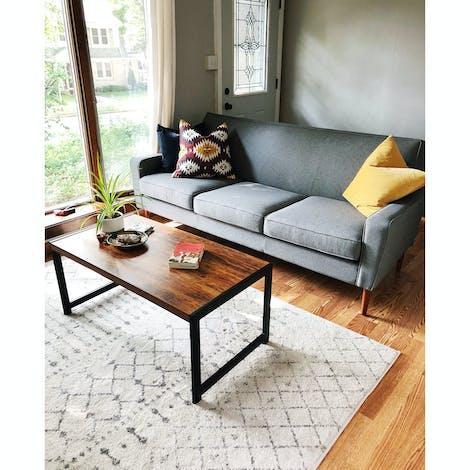 "Winslow 84"" Sofa - Photo by Honey Creek Hideout"