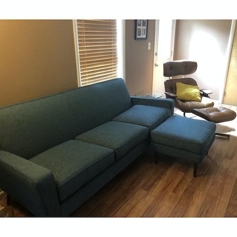 "Winslow 84"" Sofa - Photo by Jenni Miller"