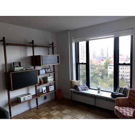 Dexter Modular Shelf with Cabinet - Photo by Michael Bolgar