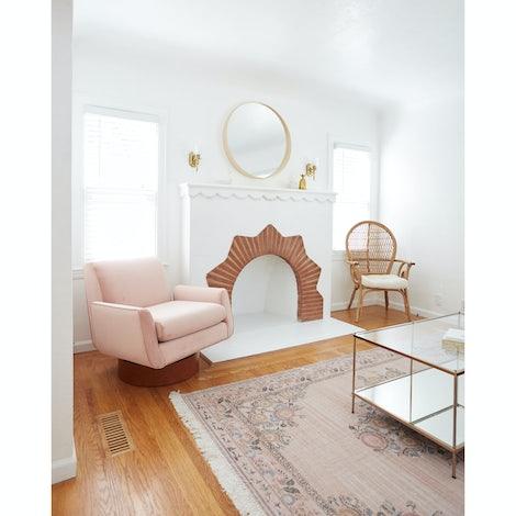Bingham Swivel Chair - Photo by Melissa Johnson