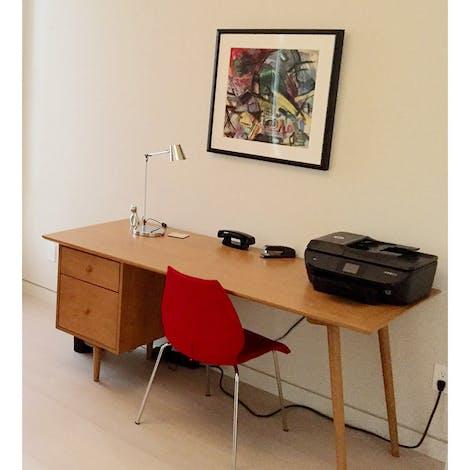 Alcott Desk - Photo by Lawrence B.
