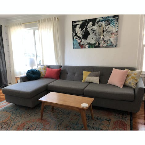 Hughes Sleeper Sectional  - Photo by Anna Resnick