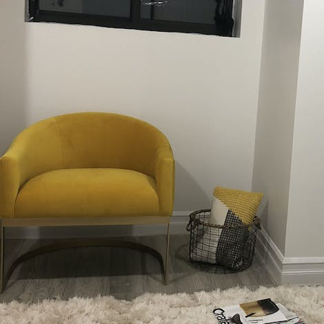 Jolie Accent Chair - Photo by Stephanie Chang