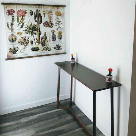 Elysian Entry Table - Photo by Laurence Andersen