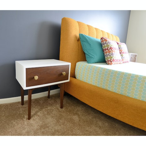 Abbey Small Nightstand - Photo by Krishna Natti