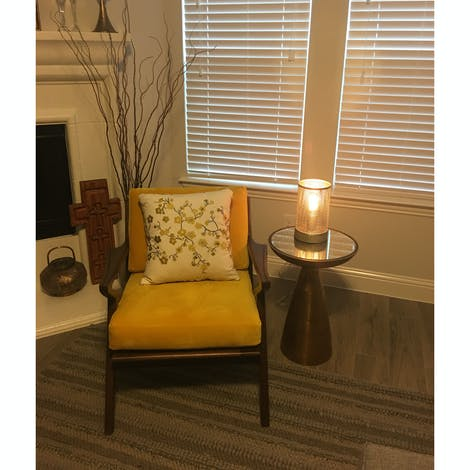 Marlow End Table - Photo by Lisa Skipper