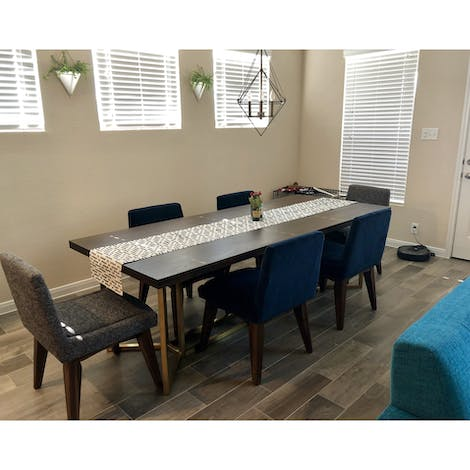 Bryant Dining Table - Photo by Maribel Cortez