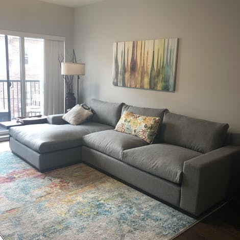 Holt Sectional with Storage - Photo by Patrick Simmonds