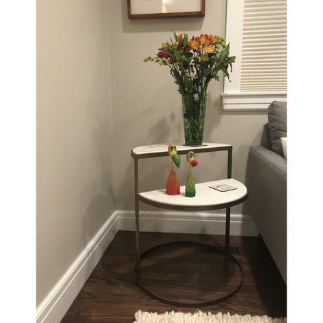 Bell End Table - Photo by Elena Blanque