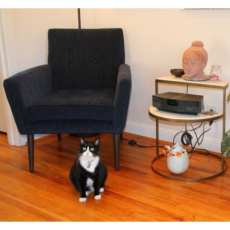Bell End Table - Photo by Nora Rob