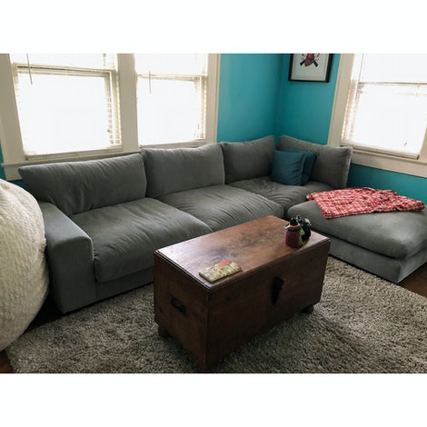 Holt Modular Sectional with Bumper - Photo by Jamie Brazell