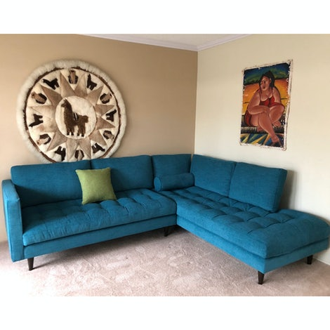 Briar Sectional with Bumper - Photo by Giovanna Benavides