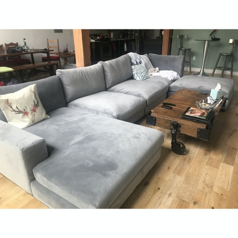 Holt Grand Sectional - Photo by Sunnie Dishman