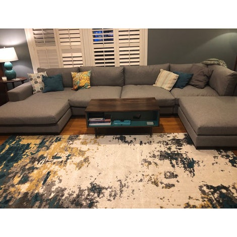Holt Grand Sectional - Photo by Debbie Williams