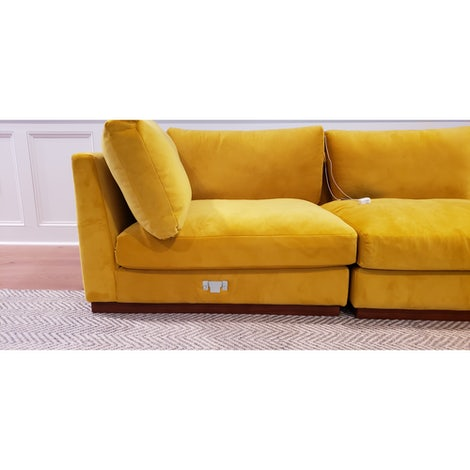 Holt Armless U-Sofa Sectional - Photo by Phil Silcox