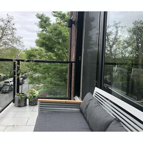 Bondi Outdoor Double Sofa - Photo by Joshua Koller