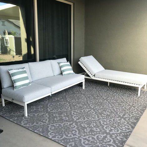Scout Outdoor Convertible Sofa - Lounge - Photo by Jessica Sauter