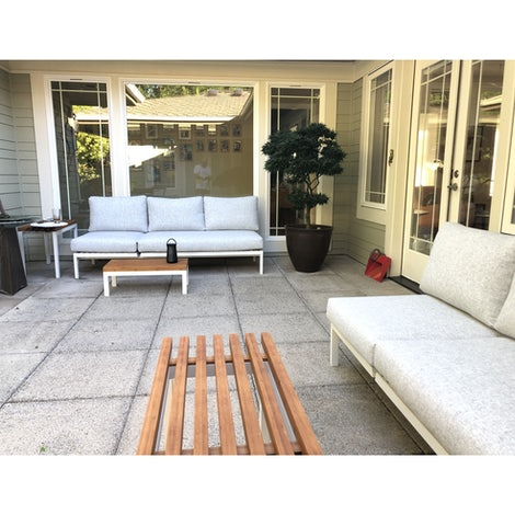 Scout Outdoor Convertible Sofa - Lounge - Photo by Mark Greene