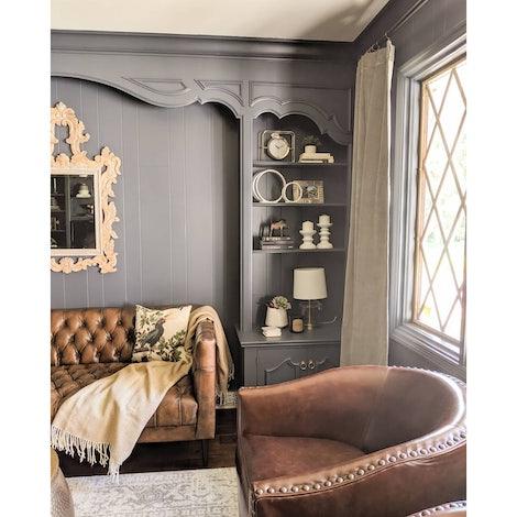 Vaughn Leather Apartment Sofa - Photo by Jorgi W.