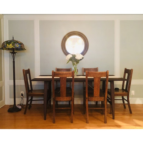 Emery Dining Table - Photo by Ann Frkovich