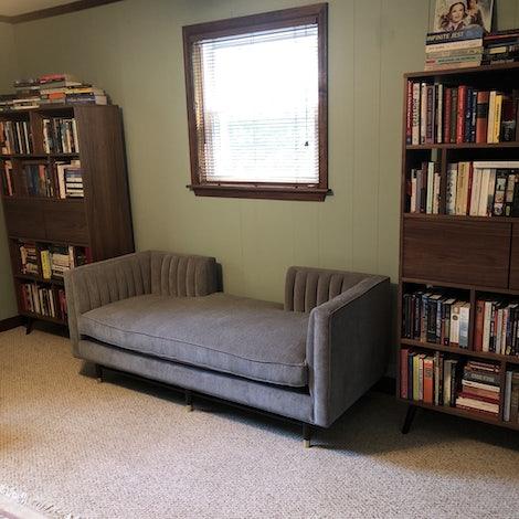 Hazel Bookcase - Photo by Stephanie Finn