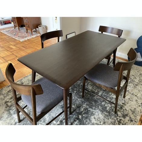 Remy Dining Table - Photo by Cello Carpenter-pierce